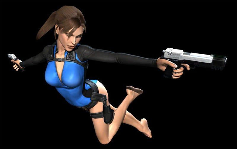 Lara Croft Downloadable Wet Suit Alert!