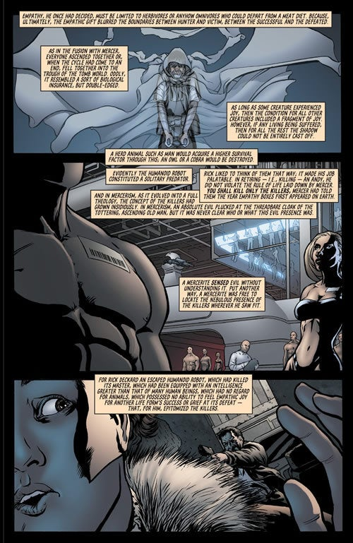 How Androids Dream Of Electric Comic Books