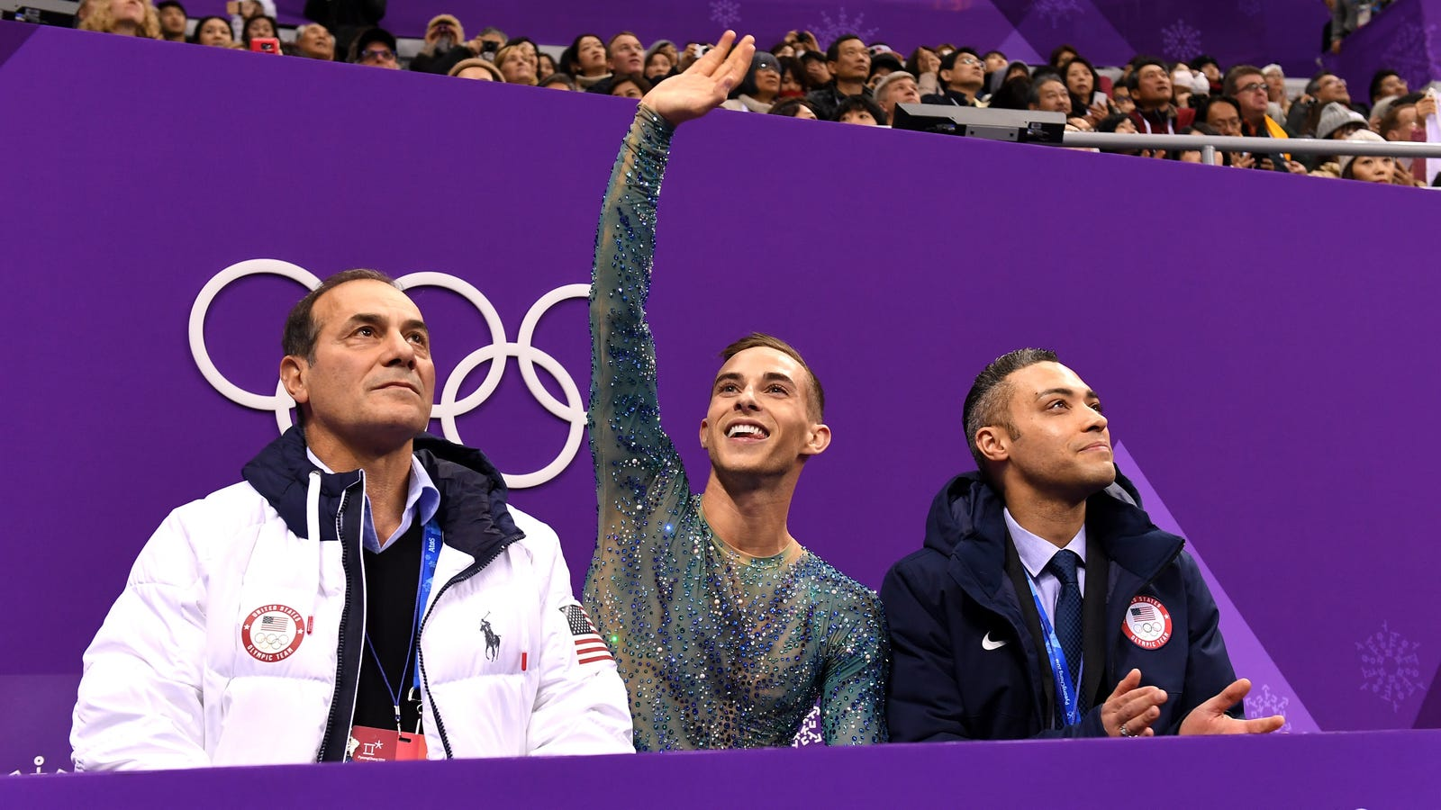Effective Right Now Immediately, Adam Rippon Is Assuming His Rightful Place on NBC
