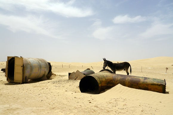In Tunisia, people actually live in the abandoned set of The Phantom Menace