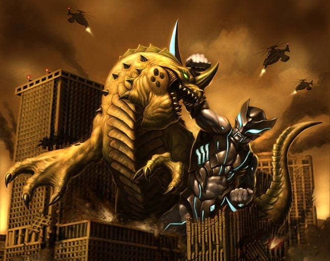 Giant Monsters Destroy All Cities