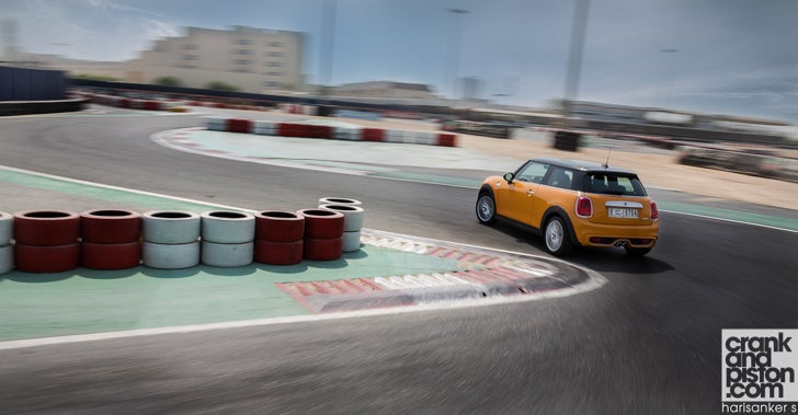 TEASER. MINI Cooper S vs Sodi go-kart on-track