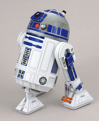 Do Your Own R2-D2 with Paper, Scissors and Glue