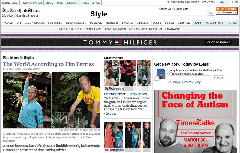 Why Is the New York Times Style Section So Loathsome? An Investigation