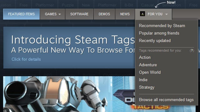 How Steam Is Going To Help You Find The Perfect Games