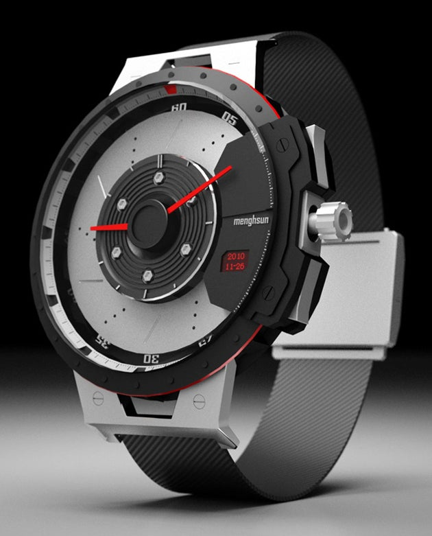 This Handsome Watch Runs At 60Mph