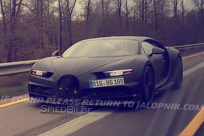 El nuevo Bugatti Chiron es una preciosidad de 16 cilindros, y costará $2.5 millones
