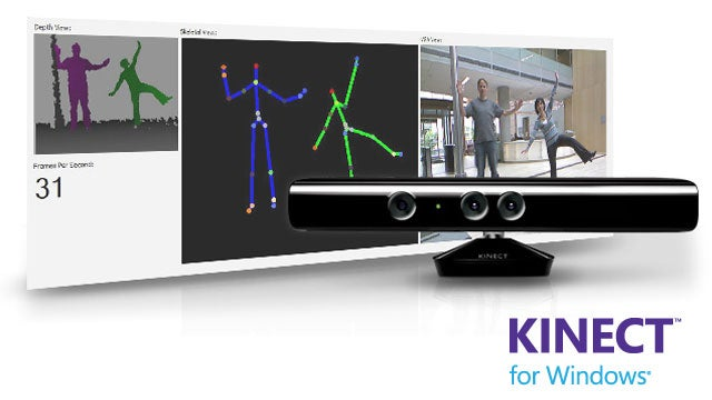 New Kinect Hardware For Windows Gets Up-Close and Personal