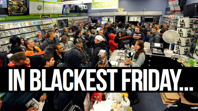 All the Gaming Deals of Black Friday [UPDATED with 80 More Deals]