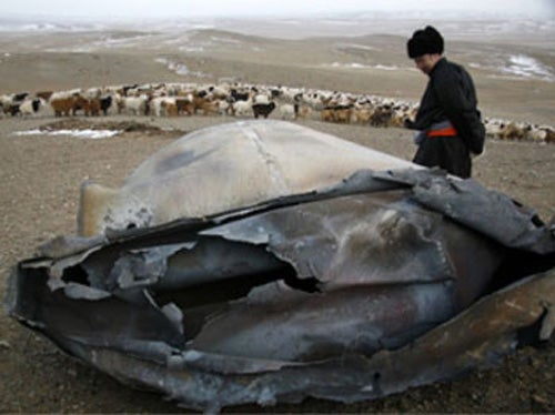 Mongolian Mystery Object From Space