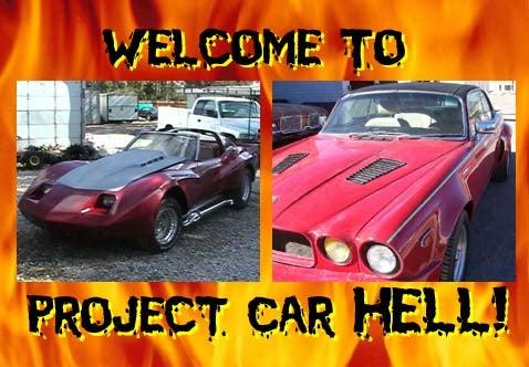 Project Car Hell, Malaise Custom Edition: Corvette or Jaguar XJC?