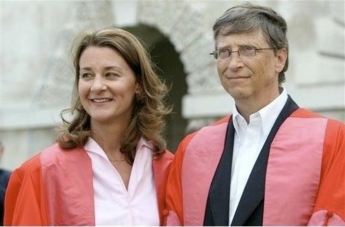 Bill Gates in Cambridge Slob Shocker