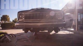 Hooniverse Garage: 1969 Jeep Wagoneer Suspension Swap