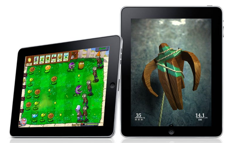 """First iPad """"HD"""" Games Sneak Out, Including Plants Vs. Zombies HD"""
