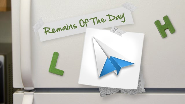 Remains of the Day: Sparrow for Mac Gains Notification Center Support