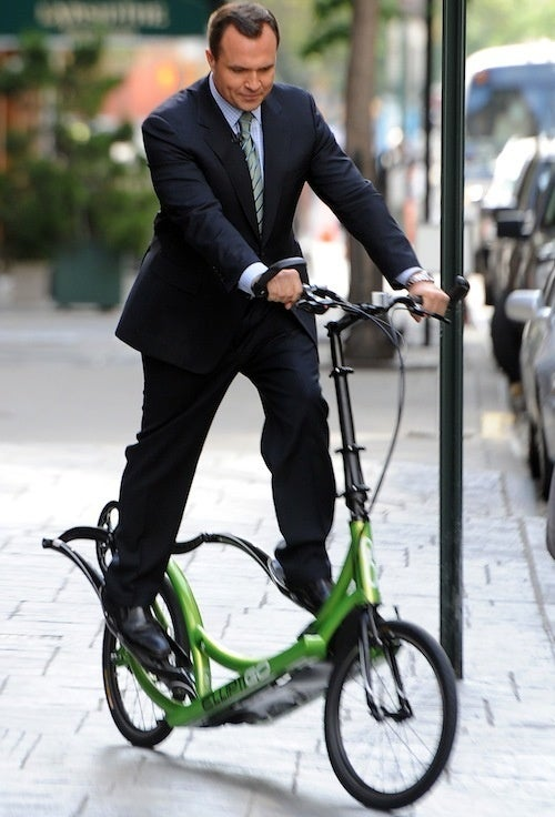 The Modern Man Uses a Velocipede for His Daily Constitutionals!