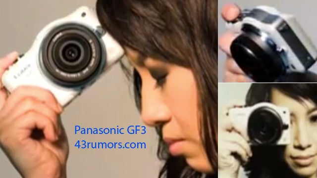 Panasonic's Next Micro Four Thirds, the GF3, Slips Out in a Video