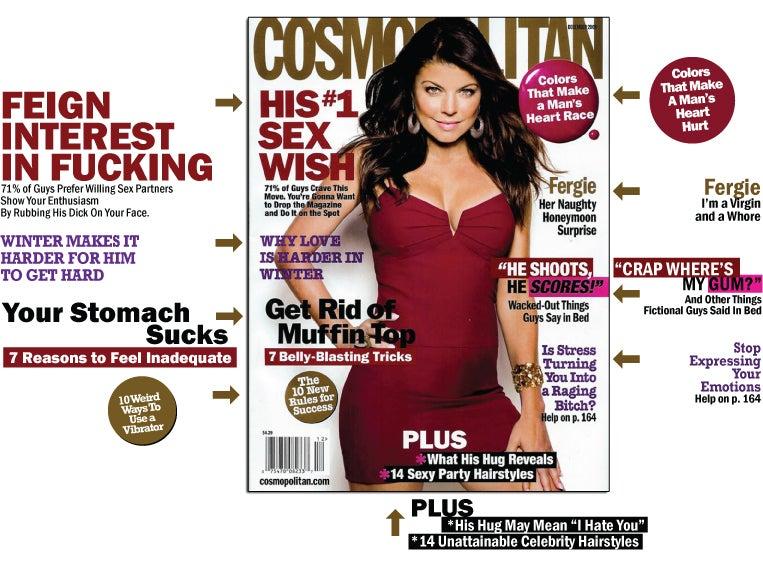 Cosmo: Men Want Virgins & Whores, No Fatties