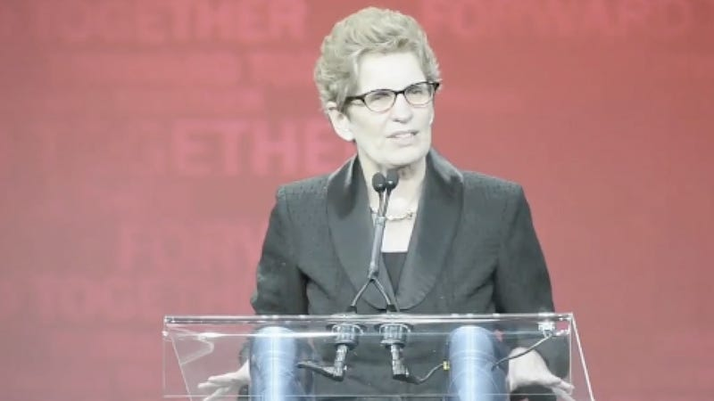Ontario's Liberal Party Gets Its First Female and Openly Gay Premiere Amid Much Rejoicing and Syrup