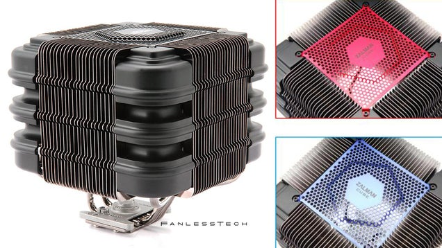The Most Grotesque Fanless CPU Cooler I've Ever Seen