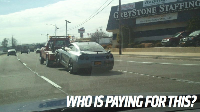 If Your Car Gets Screwed Up During Towing, Who Pays?