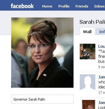 How To Get Deleted from Sarah Palin's Facebook Wall