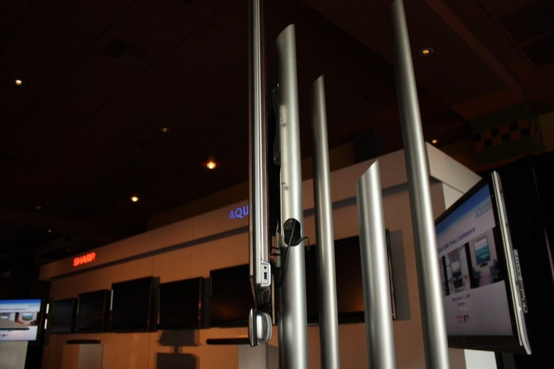 Sharp XS1 Flagship Ultrathin LCDs and D65U & D85U Little Friends Headed For US.