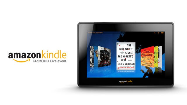 We're Live at the Amazon Tablet Event