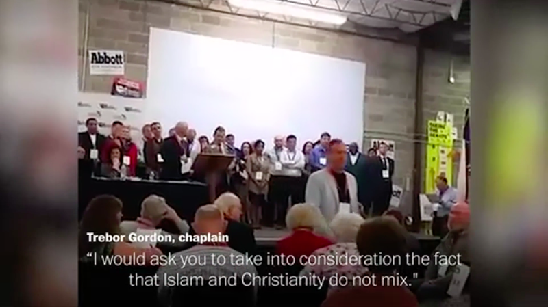 """Republican Chaplain Tries to Block Muslim Nominee From Office Because """"Islam and Christianity Do Not Mix"""""""