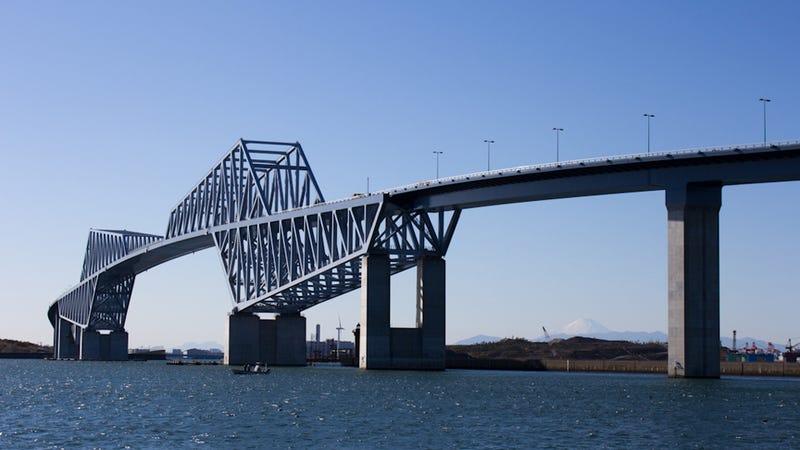 Tokyo's New 'Dinosaur' Bridge To Nowhere