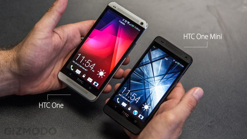 HTC One Mini Hands On: Hey There Lil' Speedster