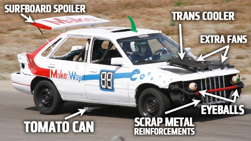 How To Make A Boring Street Car A Competitive Race Car