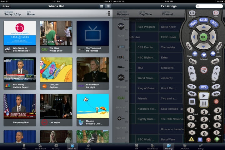 Verizon FiOS Mobile App for iPad Lets You Change Channels and Manage DVR