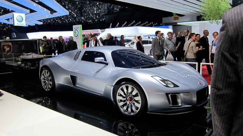 The Tornante absolves Gumpert of past designs