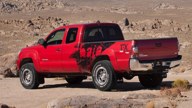 Toyota goes Raptor-lite with Tacoma Baja edition