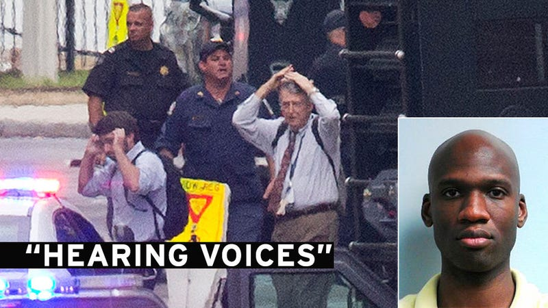 """Navy Yard Shooter Treated for """"Hearing Voices,"""" Other Mental Illnesses"""