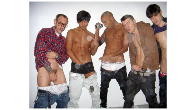 Terry Richardson Is Still Being Creepy, Now With Male Models