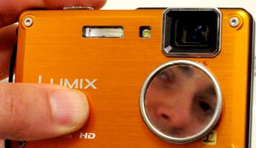 Add a Self-Portrait Mirror to Your Camera