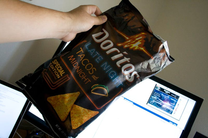 Doritos' Late Night Augmented Reality Bags Are Like a Party at Taco Bell