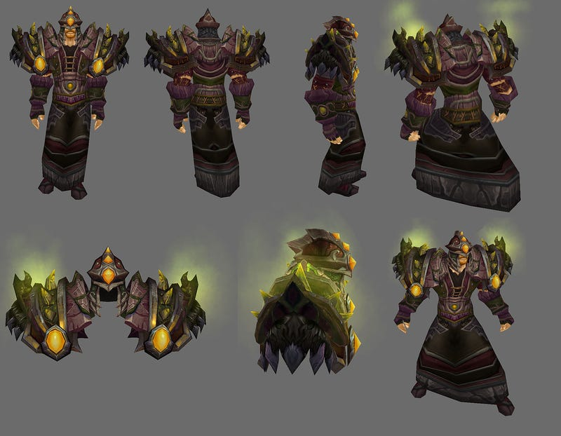 World Of Warcraft's Arena Season 8 Armor Is Quite Fetching