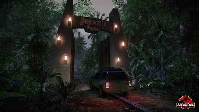 Jurassic Park Fan Project is