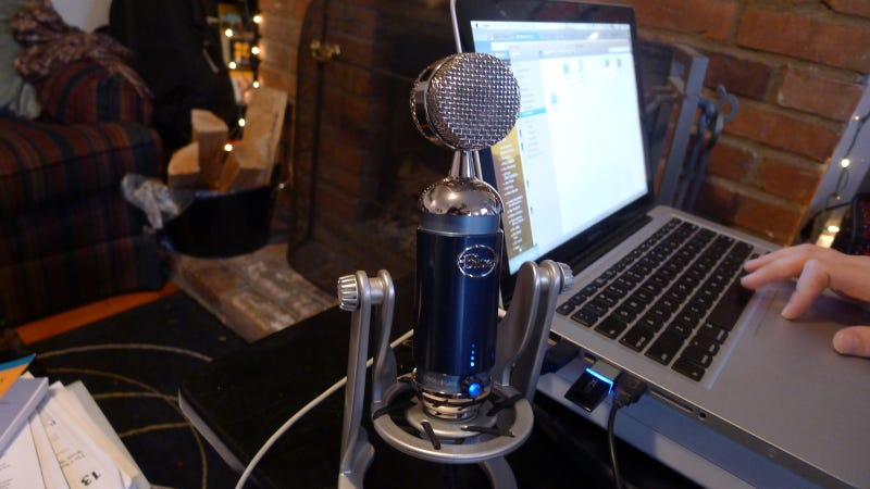 Testing Microphones with Rockstars from Apollo Run and OK Go