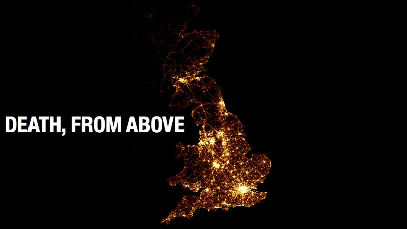 This image of every road death in the UK is painfully pretty