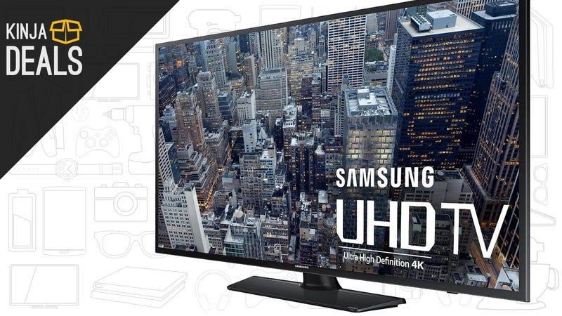 "Buy a $900 Samsung 55"" 4K TV, Get a $400 Gift Card Back"