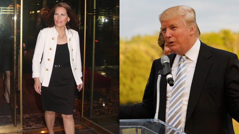 The Michele Bachmann-Donald Trump 'Tele-Townhall' Sounds Like a Trip