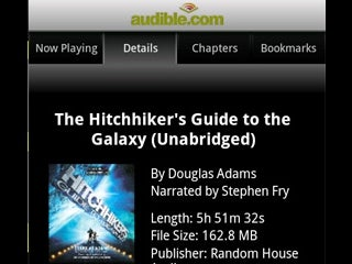 Audible Beta for Android Closes the Audiobook Gap