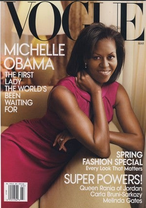 March Vogue Is No Fun With Michelle Obama On Board