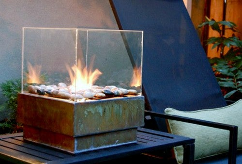 Build a Stylish Portable Fire Pit on the Cheap