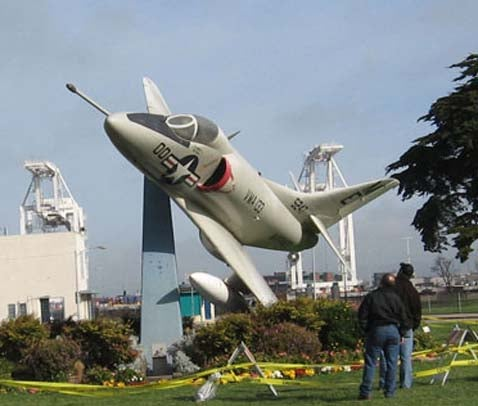 Non-Buick Skyhawk Literally Down On The Alameda Street