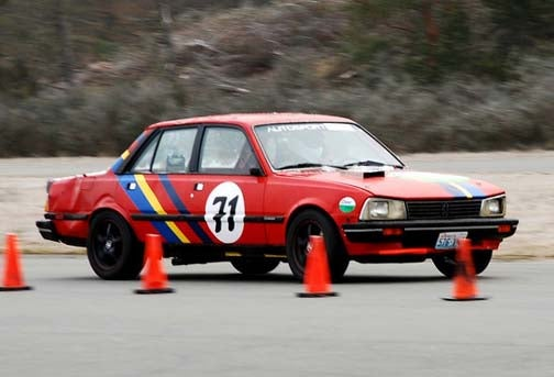 Guess How Many BMW E30s This Peugeot Will Beat At LeMons Reno, Win Fabulous Prizes!